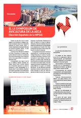 El LII Symposium de Avicultura de la AECA (Sección Española de la WPSA)
