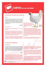 Expresión de la puesta de las gallinas