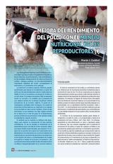 Mejora del rendimiento del pollo con el manejo nutricional de los reproductores (I)