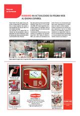 Hubbard ha actualizado su página Web al idioma español