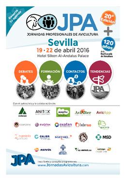 JPA 2016 - Jornadas Profesionales de Avicultura