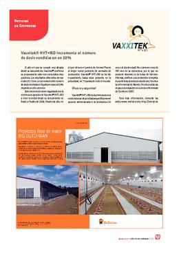 Vaxxitek® HVT+IBD incrementa el número de dosis vendidas en un 20%