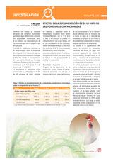 Efectos de la suplementación de de la dieta de las ponedoras con microalgas