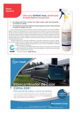 Calier lanza DESPADAC Ready, desinfectante de amplio espectro listo para usar