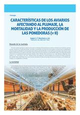 Características de los aviarios afectando al plumaje, la mortalidad y la producción de las ponedoras (y II)
