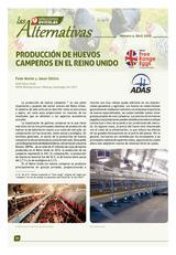 Producción de huevos camperos en el Reino Unido