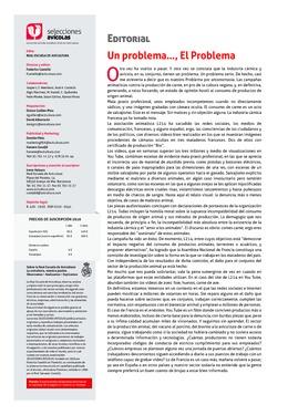 Editorial - Un problema…, El Problema