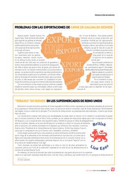 Problemas con las exportaciones de carne de gallina de desvieje