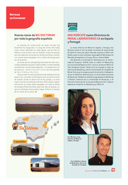 Ana Morcate nueva Directora de Merial Laboratorios SA en España y Portugal