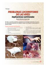 Problemas locomotores de las aves: Implicaciones nutricionales