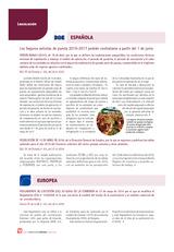 Legislación Europea y Española