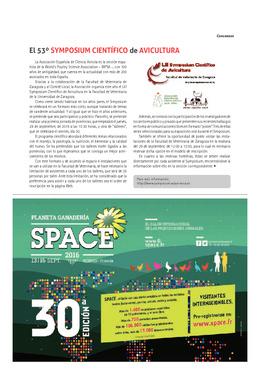 El 53º Symposium Científico de Avicultura