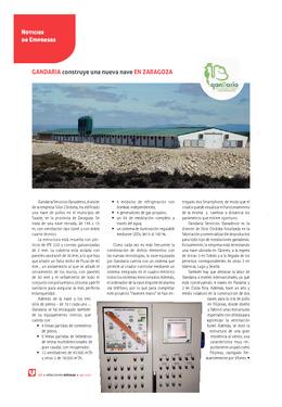 Gandaria construye una nueva nave en Zaragoza