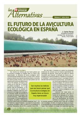 El futuro de la avicultura ecológica en España