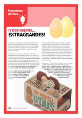 ¡Y dos huevos… extragrandes!