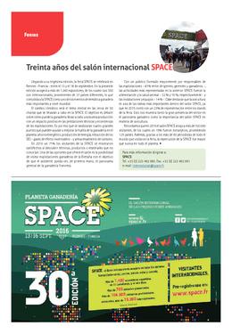 Treinta años del salón internacional SPACE