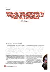 Papel del pavo como huésped potencial intermedio de los virus de la influenza