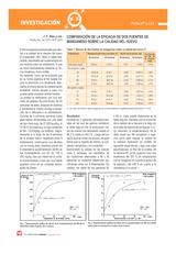 Comparación de la eficacia de dos fuentes de manganeso sobre la calidad del huevo