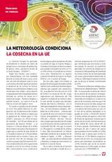 La meteorología condiciona  la cosecha en la UE