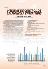Medidas de control de salmonella enteritidis