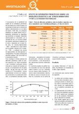 Efecto de diferentes prebióticos sobre los broilers expuestos a un  stress inmunitario y por clostridium perfringens