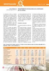 REQUERIMIENTOS EN ISOLEUCINA DE LOS BROILERS  DE 15 A 29 DÍAS