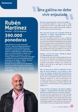 Entrevista a Rubén Martínez en SELECCIONES AVICOLAS