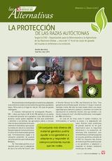 LA PROTECCIÓN  DE LAS RAZAS AUTÓCTONAS