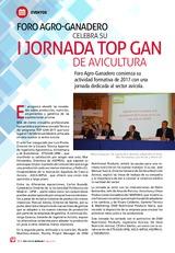 Foro Agro-Ganadero  Celebra su I Jornada TOP GAN de avicultura
