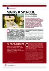 MARKS & SPENCER,  CON LOS PRODUCTORES DE HUEVOS CAMPEROS