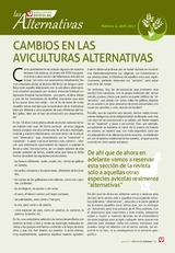 CAMBIOS EN LAS AVICULTURAS ALTERNATIVAS