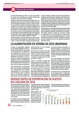 LA alimentación en España en 2016 (MAPAMA)