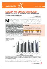 La raza y el género del broiler en relación con su utlización del trigo de una ración suplementada con enzimas