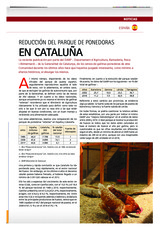 Reducción del parque de ponedoras en Cataluña