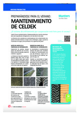 Preparándose para el verano: mantenimiento  de Celdek