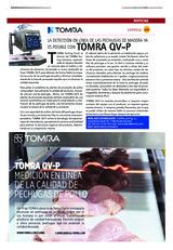 La detección en línea de las pechugas de madera ya es posible con TOMRA QV-P