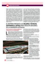 EL MAPAMA PRESENTA LAS MEJORES TÉCNICAS DISPONIBLES (MTDS) PARA REDUCIR EMISIONES  DE LA GANADERÍA INTENSIVA