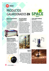 Productos galardonados en SPACE 2017
