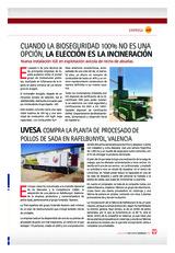 UVESA compra la planta de procesado de pollos de SADA en Rafelbunyol, Valencia