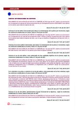 Reglamento relativo a nuevas autorizaciones de aditivos en piensos