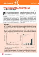 Vitaminas D para ponedoras