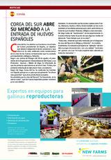 Corea del Sur abre su mercado a la entrada de huevos españoles