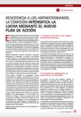Resistencia a los antimicrobianos: la comisión intensifica la lucha mediante el nuevo plan de acción
