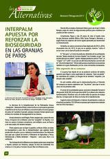 Interpalm apuesta por reforzar bioseguridad en las granjas de patos