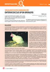 VIGILANCIA ESCANEADA DE  ENTEROCOCCUS SP EN BROILERS