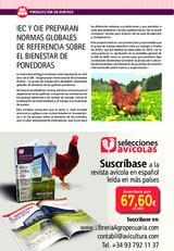IEC Y OIE PREPARAN NORMAS GLOBALES DE REFERENCIA SOBRE EL BIENESTAR DE PONEDORAS