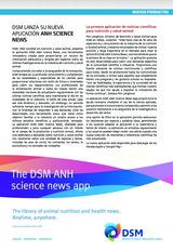 DSM lanza su nueva aplicación ANH Science News