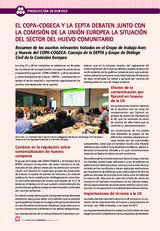 El COPA-COGECA y la EEPTA debaten con la comisión de la UE la situación del sector del huevo comunitario