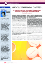 Huevos, vitamina D y diabetes