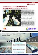 Francia recupera el estatuto de indemne a la influenza aviar